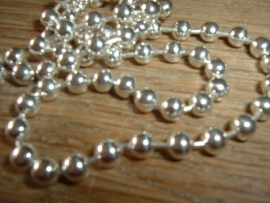 Ball chain ketting 4 mm.