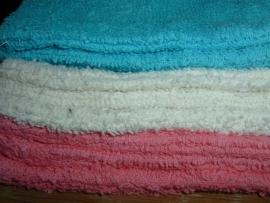 Washandjes 16 x 21 cm. in 3 mooie kleuren