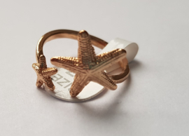 Must have ringen in goudkleur met zeesterren