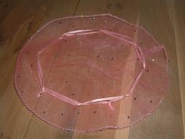 Mooie roze organza buideltjes