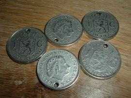 Mooie hangertjes Munt 1 gulden