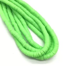 Katsuki kralen 6 mm fel groen per streng