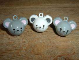 Leuke belletjes in de vorm van een muisje