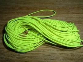 Elastiek draad in een mooie neon gele kleur 0.8 mm.