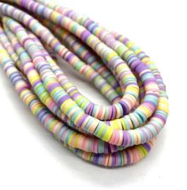 Katsuki kralen 6 mm pastel per streng