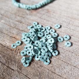 Katsuki kralen 4 mm Green ash 100 stuks per zakje