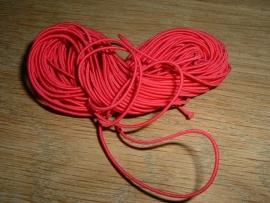 Elastiek draad in een mooie hard roze kleur 0.8 mm.