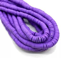Katsuki kralen 6 mm donker paars per streng