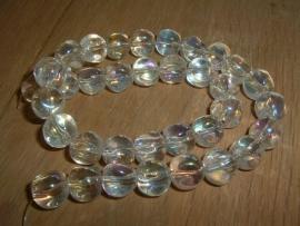 Mooie transparante glaskralen crystal AB