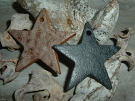 Mooie grote leren sterren