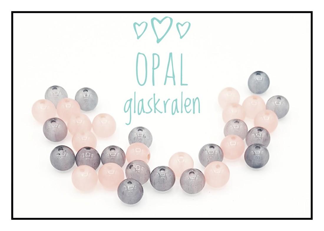 Opal glaskralen