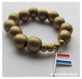 Armband HollandGoud001