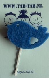 KK schuifje Bird blauw