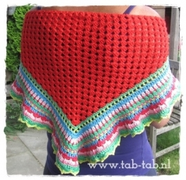 Shawl `Color Your Life` (verkocht)