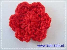 BloemB3,5 B6 rood