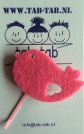 KK schuifje Bird roze