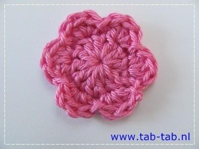 BloemB3,5 B6 roze