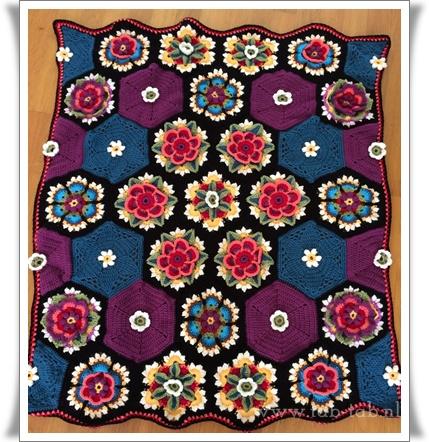 FridaFlowerBlanket