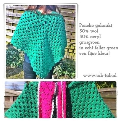 Poncho groen