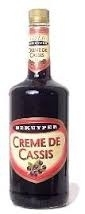 Crème de Cassis (fles 1ltr.)