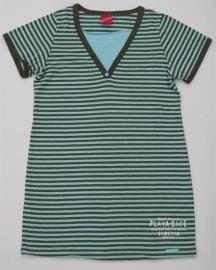 Playa groen-donkergroen pyjamahemd