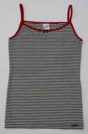 Zwart-wit gestreept hemd 176