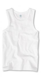 Wit hemd met brede banden