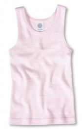 Roze hemd van biologisch katoen