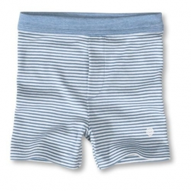 Blauw wit gespreepte boxer