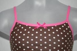Bruin-roze hemd