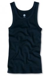 Donkerblauw hemd van biologisch katoen