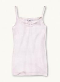 roze geblokt hemd