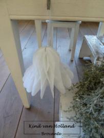 Papieren kerstklok *