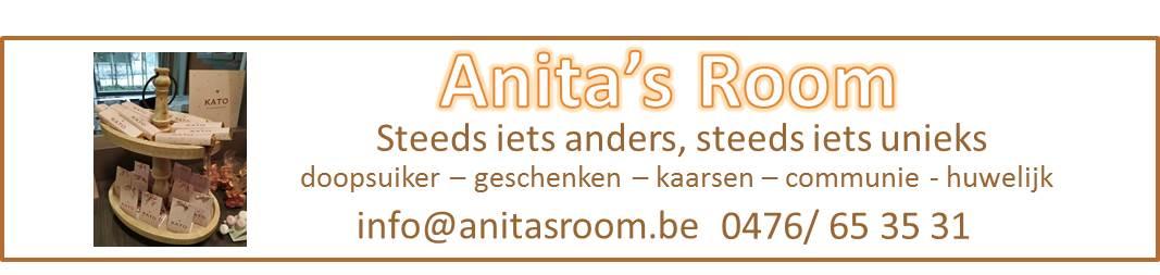 Doopsuiker, suikerbonen, bedankjes Anita`s Room