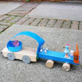 Pakje Raceauto