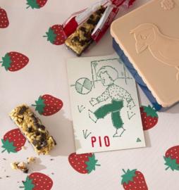 PVC Tafelzeil - Aardbeien