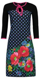 Tante Betsy - Dress Sweetheart Poppy dot black