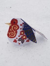 Piet Design - Imari roodborstje