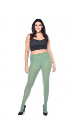 Opaque panty  50 denier - Leaf green