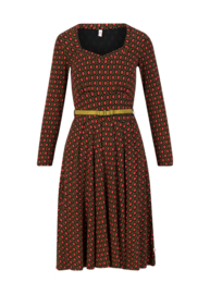 My autumn heart dress Ruby red