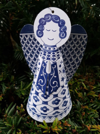 Piet Design - Delftsblauwe engel
