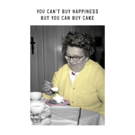 You can't buy hapiness
