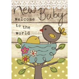 Lieve babykaart