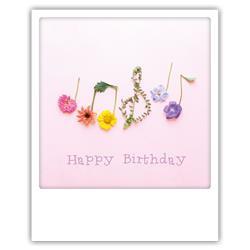 Happy birthday muziekboeketje