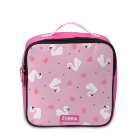 Rugzak Zwaantje pink ( S) - Zebra