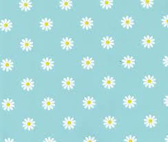 PVC Tafelzeil - daisy turquiose