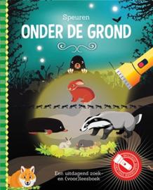 Zaklantaarnboek : Speuren onder de grond
