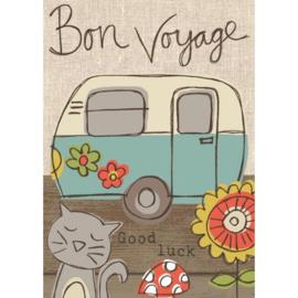 Bon voyage kaart