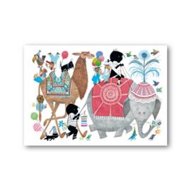 Fiep Westendorp - Jip en Janneke en de olifant kaart