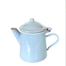 Emaille koffiepot - pastel blauw